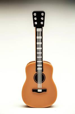 Acoustic Guitar Photograph - Guitar by Samuel Whitton