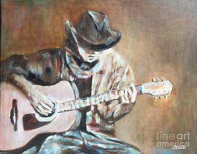 Painting - Guitar Solo by Kathy Stiber