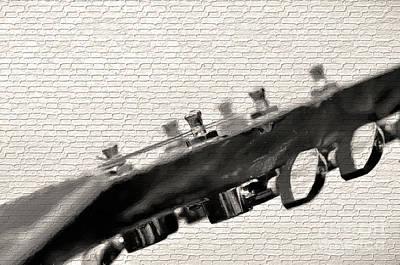Photograph - Guitar Street Art By Kaye Menner by Kaye Menner
