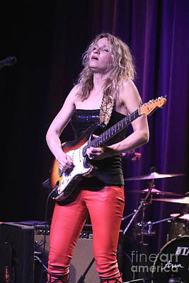 Photograph - Guitarist Ana Popovic by Concert Photos