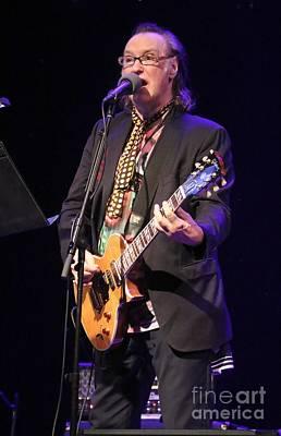 Guitarist Dave Davies Art Print by Concert Photos
