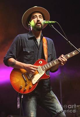 Guitarist Jackie Greene Art Print by Concert Photos