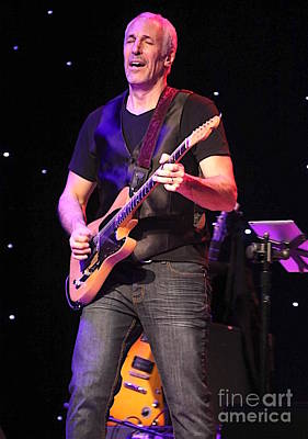 Guitarist Jeff Pevar Art Print by Concert Photos