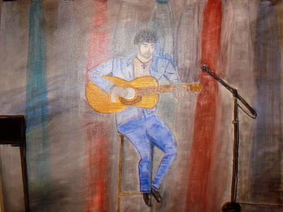 Guitarrist Art Print