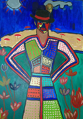 Mixed Media - Gula Woman by Russell Simmons