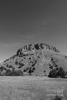 Photograph - Gulch 2 Cave Top Mound by Heather Giebel