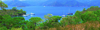 Photograph - Gulets In The Aegean by Sun Travels