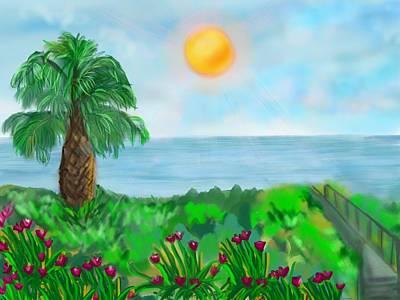 Painting - Gulf by Christine Fournier