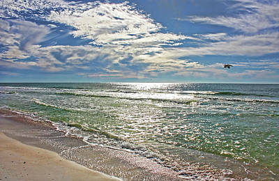 Photograph - Gulf Coast Beaches by HH Photography of Florida