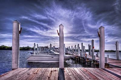 Grande Photograph - Gulf Coast Blues by Evelina Kremsdorf