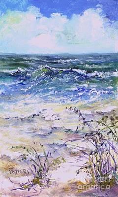 Painting - Gulf Coast Florida Keys  by Virginia Potter