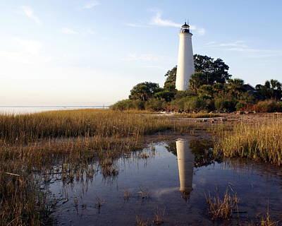 Gulf Coast Lighthouse2  Print by Marty Koch