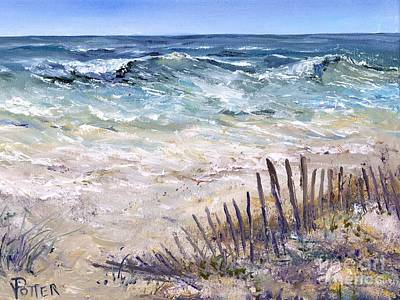 Painting - Gulf Coast Perdido Key by Virginia Potter