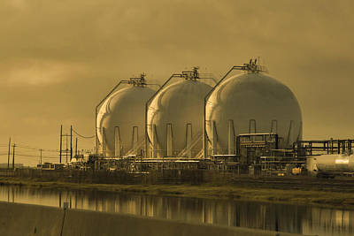 Photograph - Gulf Coast Petro Chemical by Linda Unger