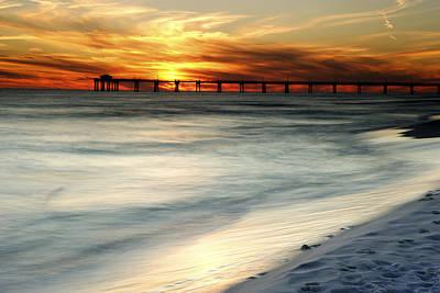 Gulf Coast Pier Art Print