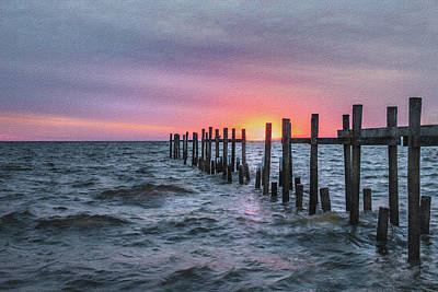 Photograph - Gulf Coast Sunrise by James Woody