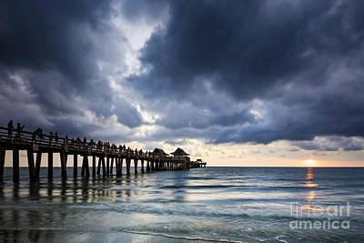 Photograph - Gulf Coast Sunset by Brian Jannsen