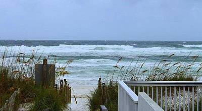 Photograph - Gulf Coast Waves by Debra Forand