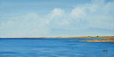 Gulf Impression 1 Art Print