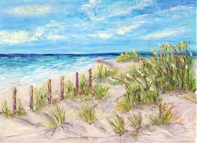 Painting - Gulf Island by Mary Sedici