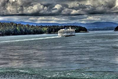 Gulf Islands 5 Original by Lawrence Christopher