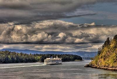 Gulf Islands 6 Art Print by Lawrence Christopher