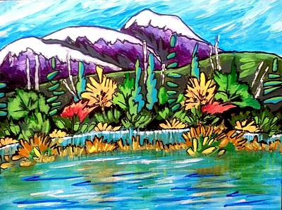 Painting - Gulf Islands by Nikki Dalton