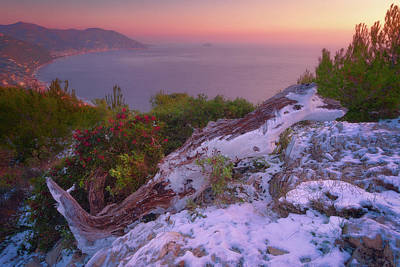 Photograph - Gulf Of Laigueglia by Giovanni Allievi