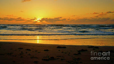 Photograph - Gulf Of Mexico Sunrise by Roxie Crouch