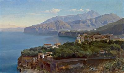 Painting - Gulf Of Sorrento by Celestial Images