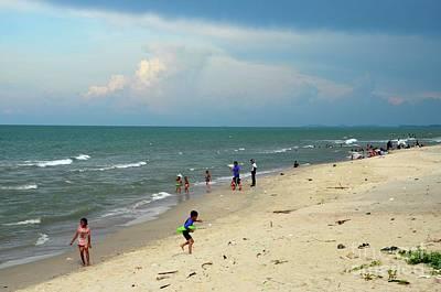 Photograph - Gulf Of Thailand Beach Beside Hatyai Pattani Highway Southern Thailand by Imran Ahmed