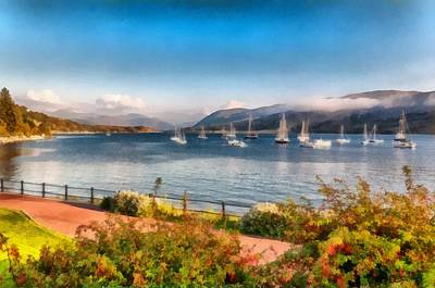 Photograph - Gulf Of  Ullapool      by Sergey Simanovsky