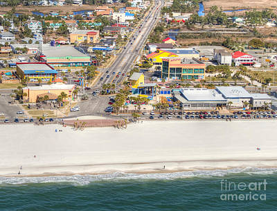 Photograph - Gulf Shores - Hwy 59 by Gulf Coast Aerials -