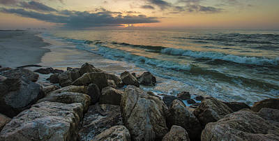 Photograph - Gulf Shores Morning Waves  by John McGraw