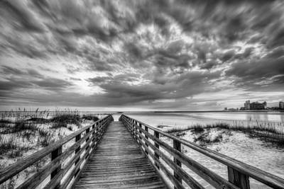 Photograph - Gulf Shores Skyline by JC Findley