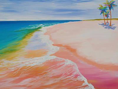 Gulf Side Art Print by Anne Marie Brown