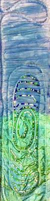 Tapestry - Textile - Gulf Stream Eddie by Kay Shaffer