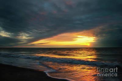Photograph - Gulf Sunset by David Arment