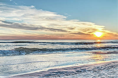 Photograph - Santa Rosa Beach, Florida Gulf Sunset by Kay Brewer