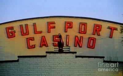Gulfport Casino Art Print by David Lee Thompson