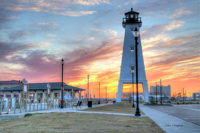 Photograph - Gulfport Lighthouse by Don Schiffner