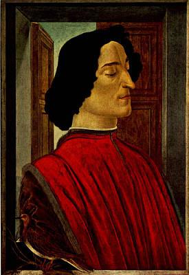 Digital Art - Guliano De Medici  by Sandro Botticelli