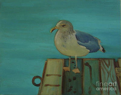 Painting - Gull And Ring by Lilibeth Andre
