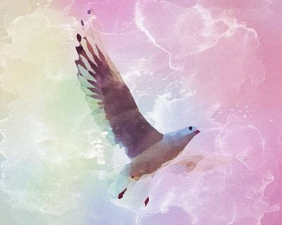 Painting - Gull by Mark Taylor