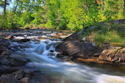 Photograph - Gull River Falls - Gunflint Trail Minnesota by Shari Jardina