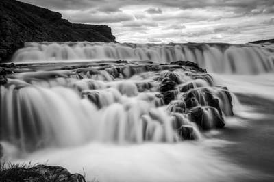 Photograph - Gullfoss by Brad Grove