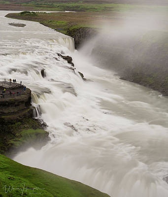 Photograph - Gullfoss, Iceland - 1379,s by Wally Hampton