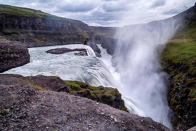 Golden Circle Photograph - Gullfoss - Iceland by Joana Kruse
