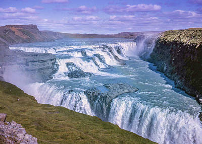 Photograph - Gullfoss, Iceland by Richard Goldman