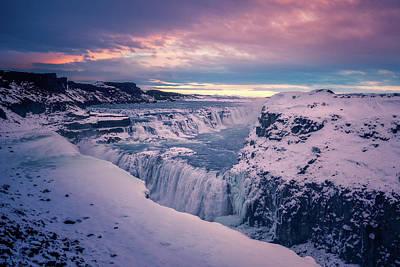 Photograph - Gullfoss Morning by James Billings